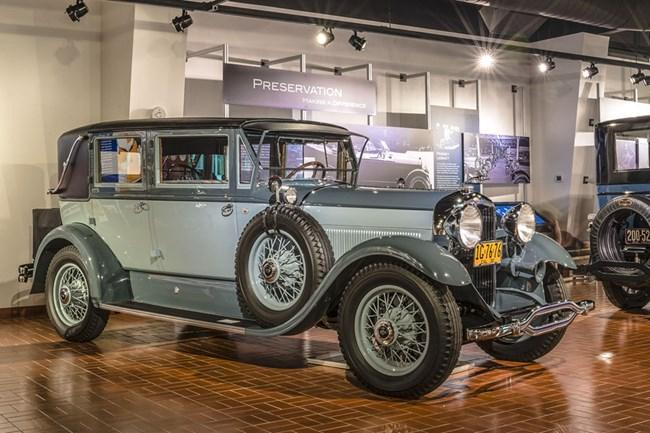 Museum's 1930 Lincoln Judkins Berline Invited to St. John's Concours