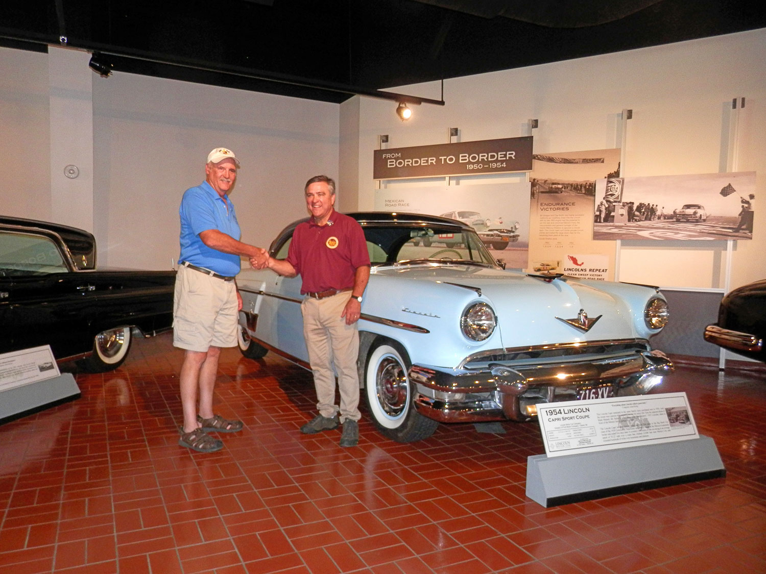Lincoln Car Museum News 1950s Cars Receives 1954 Capri From Peter Bailey