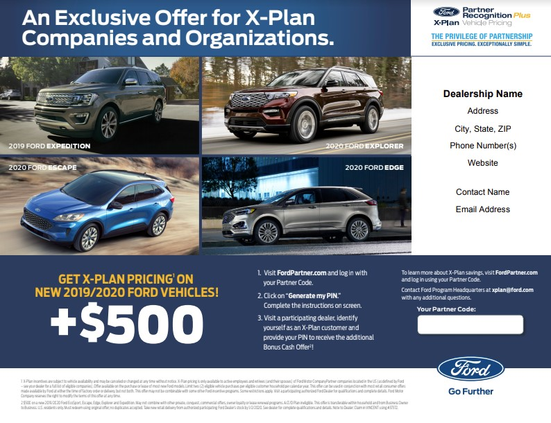 Ford X Plan Pricing >> Lincoln Car Museum X Plan