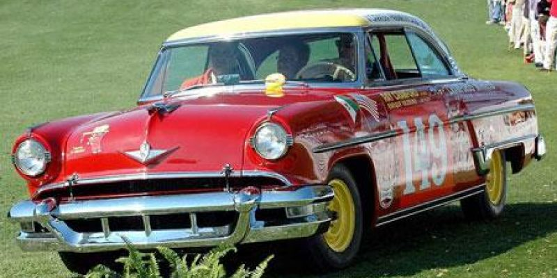 Support Transporting the 1954 Lincoln Carrera Panamericana Car to the Lincoln Homecoming